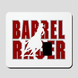 BARREL RACER [maroon] Mousepad